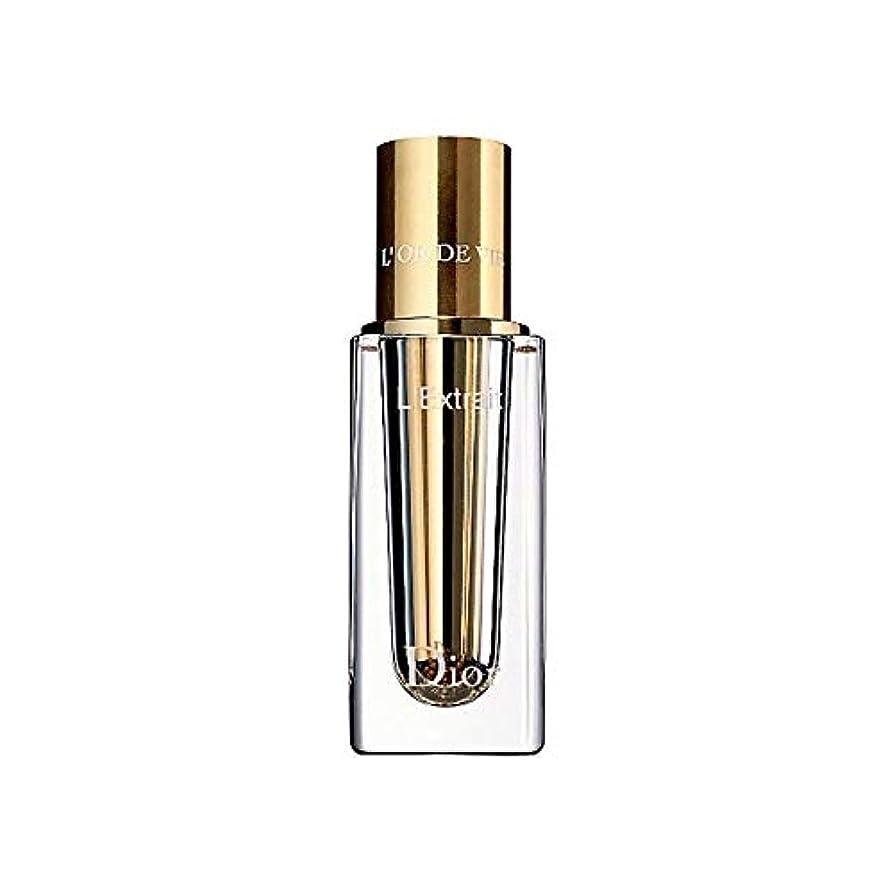 スポークスマン利点通り抜ける[Dior] ディオールL'またはデはExtrait詰め替え15ミリリットルをL'Vieが - Dior L'Or De Vie L'Extrait Refillable 15ml [並行輸入品]