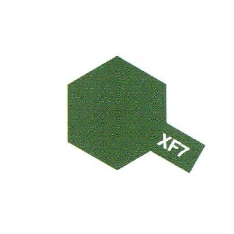 タミヤ アクリルミニ(つや消し) XF73 濃緑色(陸上自衛隊)