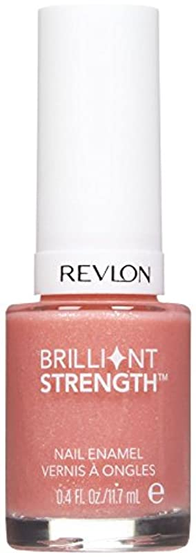 バレーボール最後の染料REVLON BRILLIANT STRENGTH NAIL ENAMEL #010 DAZZLE