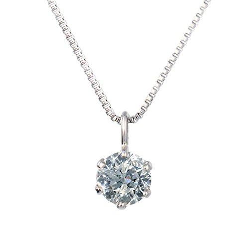 [キョウセラジュエリー] kyocera jewelry 0.3ctプラチナダイヤモンドペンダント JPDD9606