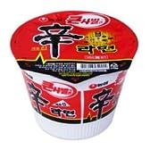 【BOX販売】農心 辛カップラーメン(大) 114g X 16個入■韓国食品■冷麺/春雨/ラーメン■農心