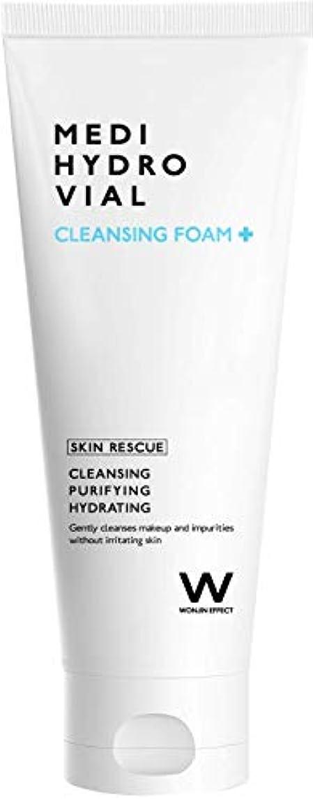 ほかに磁器欺くWONJIN EFFECT Medi Hydro Vial Cleansing Foam 200ml Skin cleanse and moisture barrier - Korean skincare