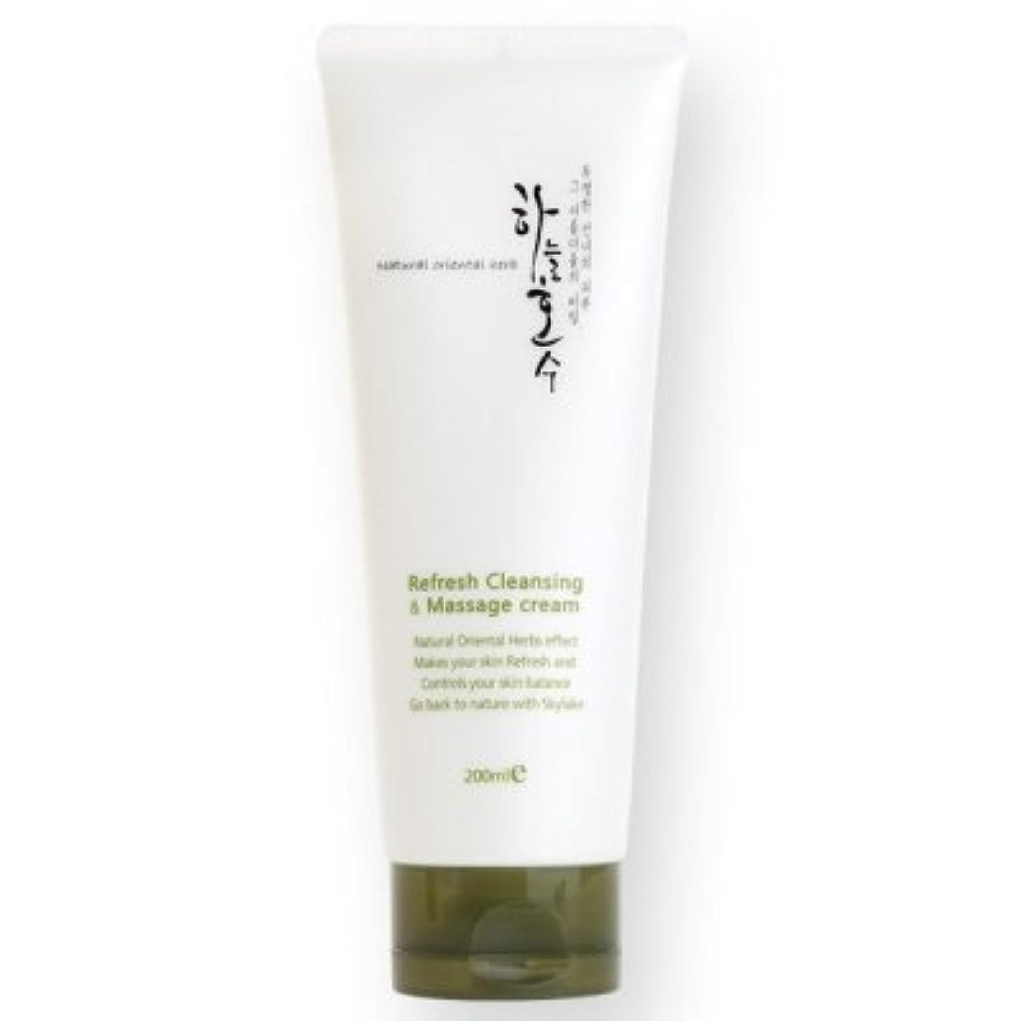 限り論争的迷信ハヌルホス[Skylake] Skylake Refresh cleansing Massage Cream 200ml リフレッシュ マッサージクリーム 200ml