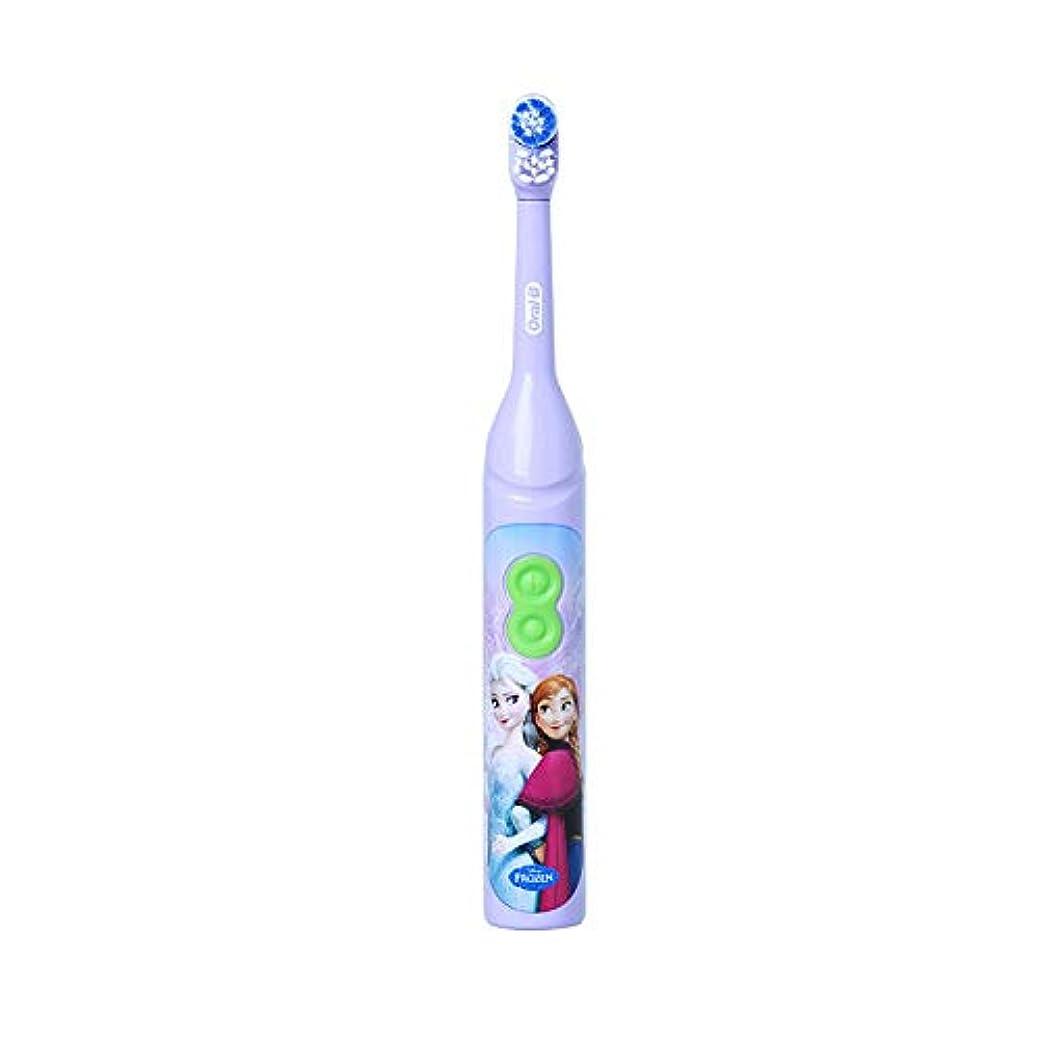 民族主義多様なそれるOral-B DB3010 Stages Power Disney Frozen Elsa 電動歯ブラシ [並行輸入品]