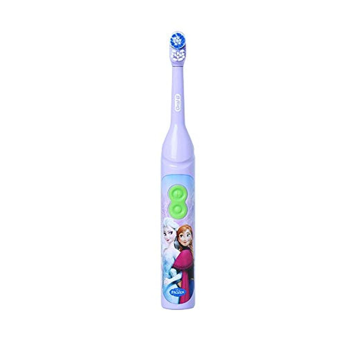 破壊的な発送エンジニアリングOral-B DB3010 Stages Power Disney Frozen Elsa 電動歯ブラシ [並行輸入品]