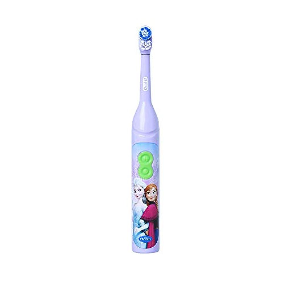 教えラバ抵抗するOral-B DB3010 Stages Power Disney Frozen Elsa 電動歯ブラシ [並行輸入品]