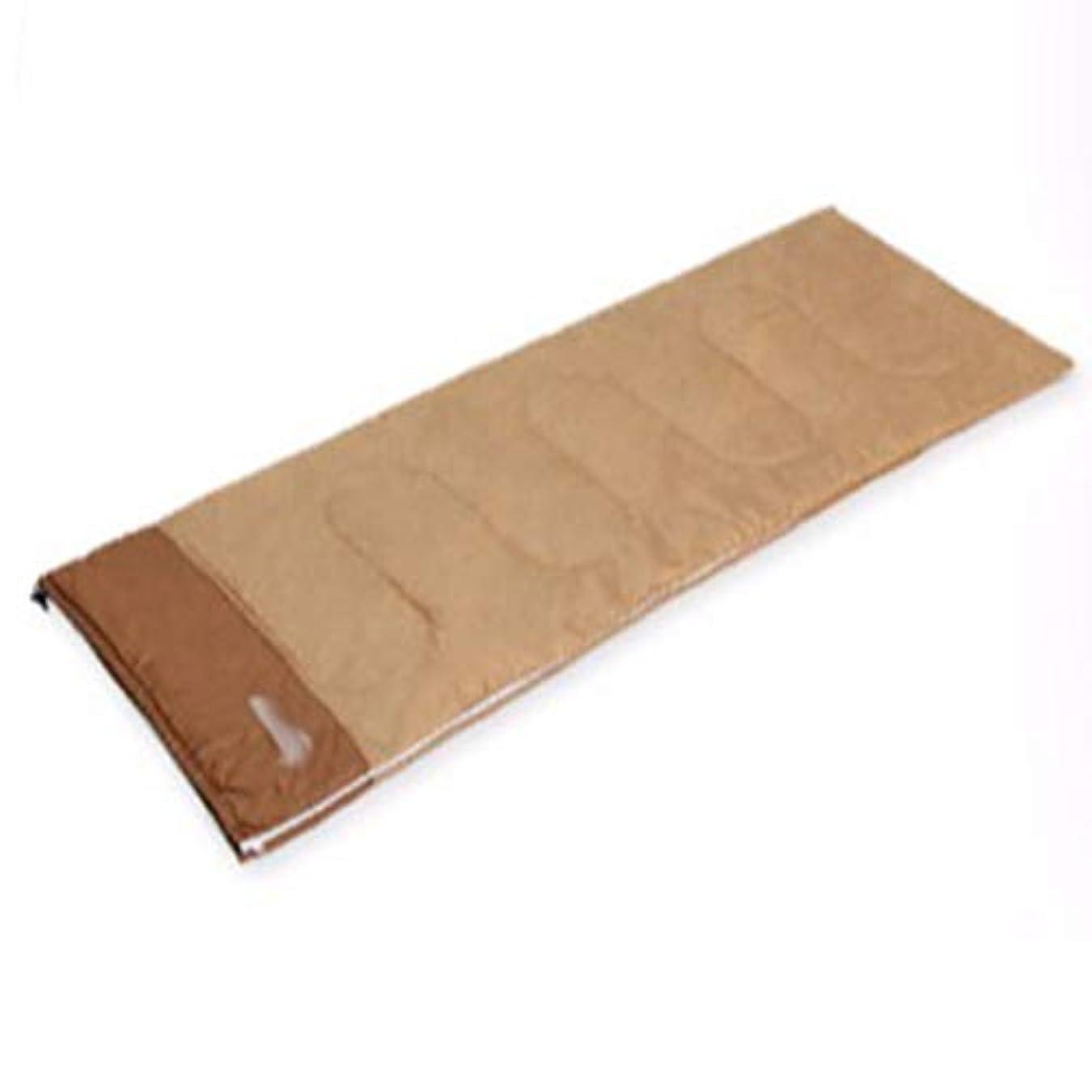 広告する見物人前述の寝袋キルト3シーズンキャンプブッシュ屋外屋外 春と夏の超軽量ポータブルコットン枕寝袋大人の旅行キャンプオフィスを継ぐことができます さまざまな色とサイズで利用可能 (色 : 黄)