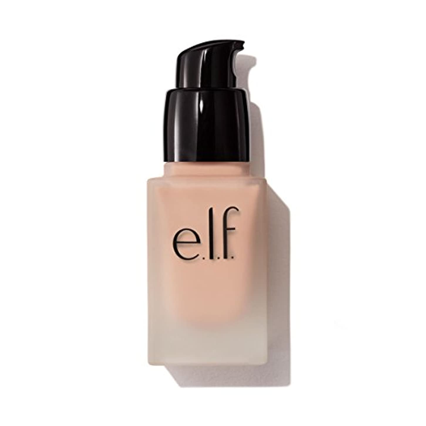 汚染する染料対抗e.l.f. Oil Free Flawless Finish Foundation - Natural