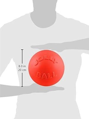 【パンク知らずで丈夫!】バウンスンプレイボール Bounce-n-Play (L(20.3cm), オレンジ)
