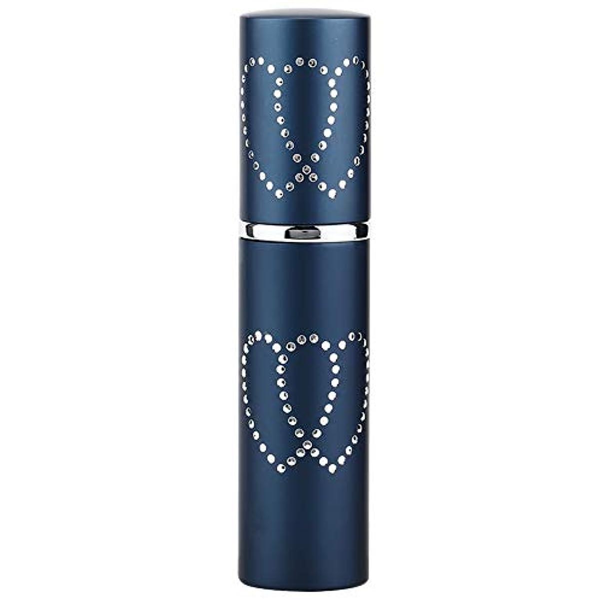 モットーペレグリネーション野心2色10ml リムーバブル 詰め替え 空の香水瓶 香水スプレー アトマイザー(01)
