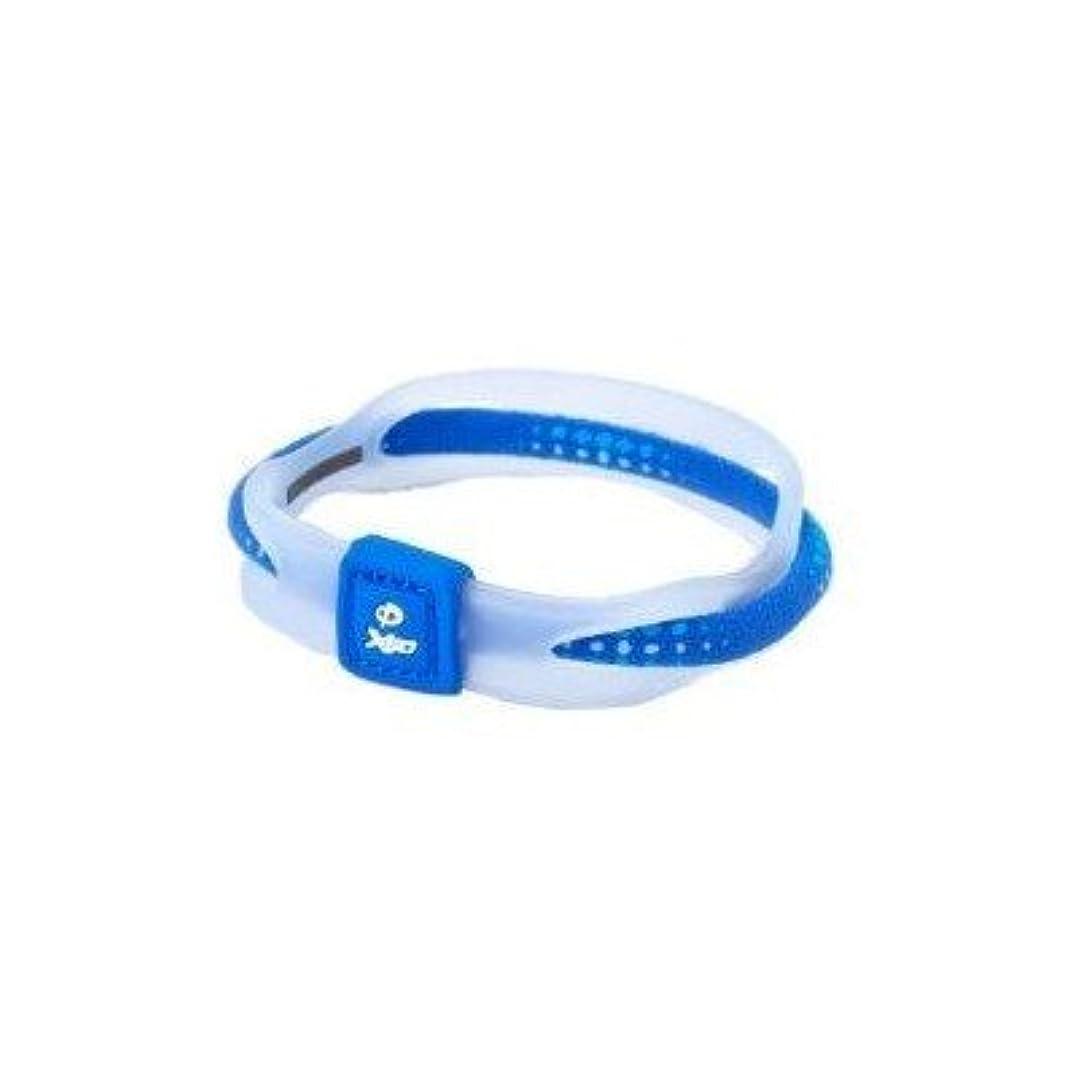 暗記する手綱好ましいPhiten(ファイテン) RAKUWA ブレス X50 ブルー 17CM TG497225[通販用梱包品]