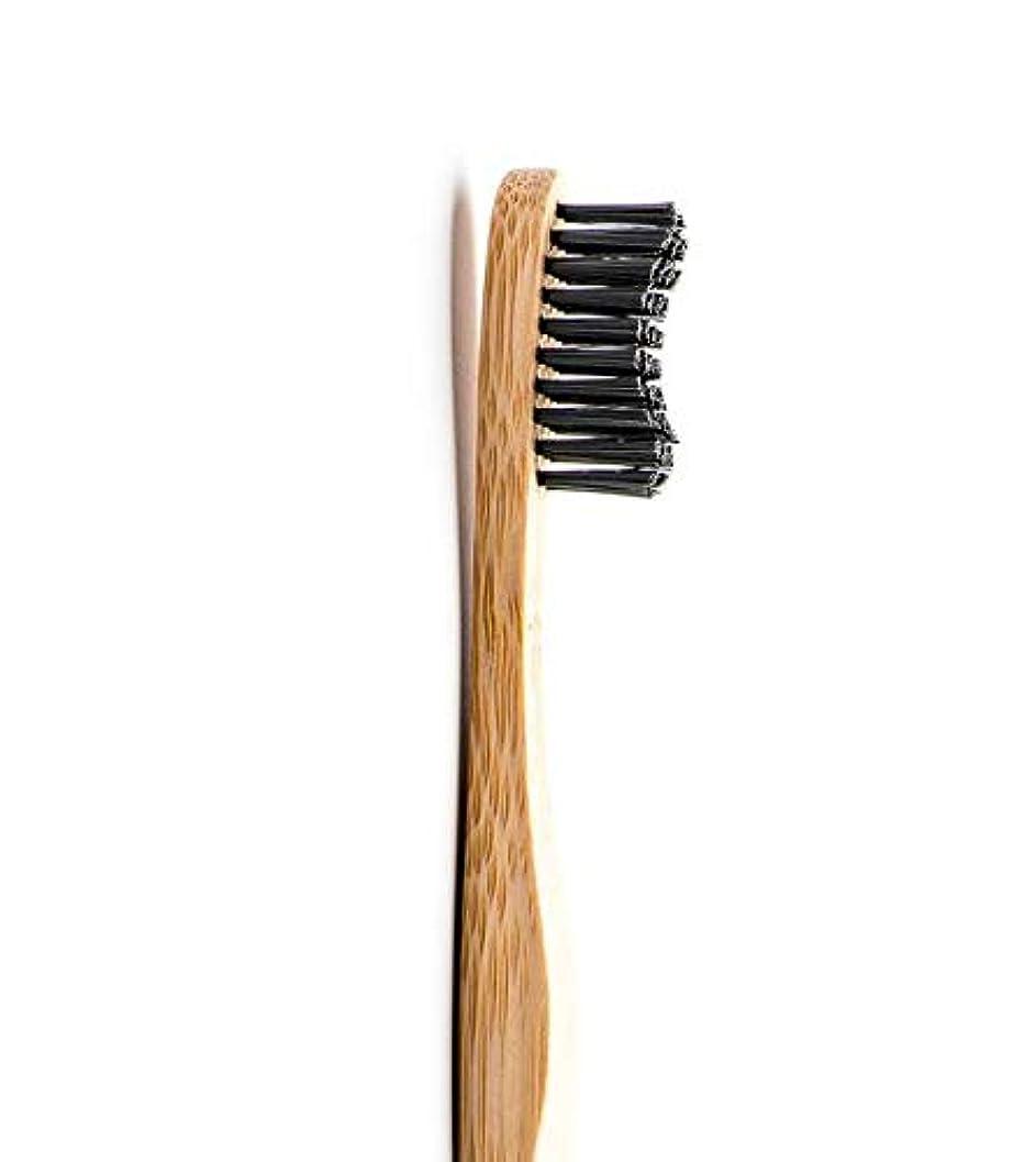 キロメートル体現する接続されたTHE HUMBLE CO.(ザ?ハンブル?コー) HUMBLE BRUSH(ハンブルブラッシュ) 歯ブラシ 大人用 ブラック 19cm