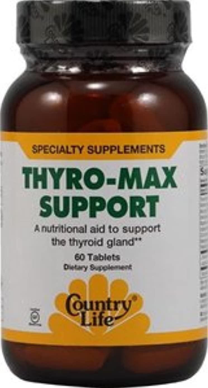 テーブル人類ラベルThyro-Max Support 60 tabs 2個パック