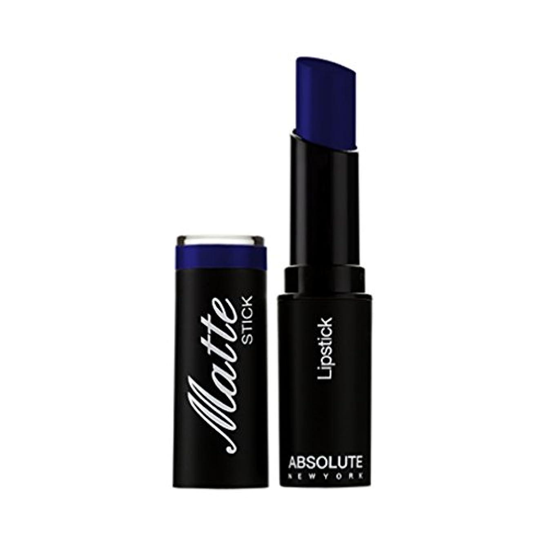 辞書非効率的な報酬の(3 Pack) ABSOLUTE Matte Stick - Dark Blue (並行輸入品)