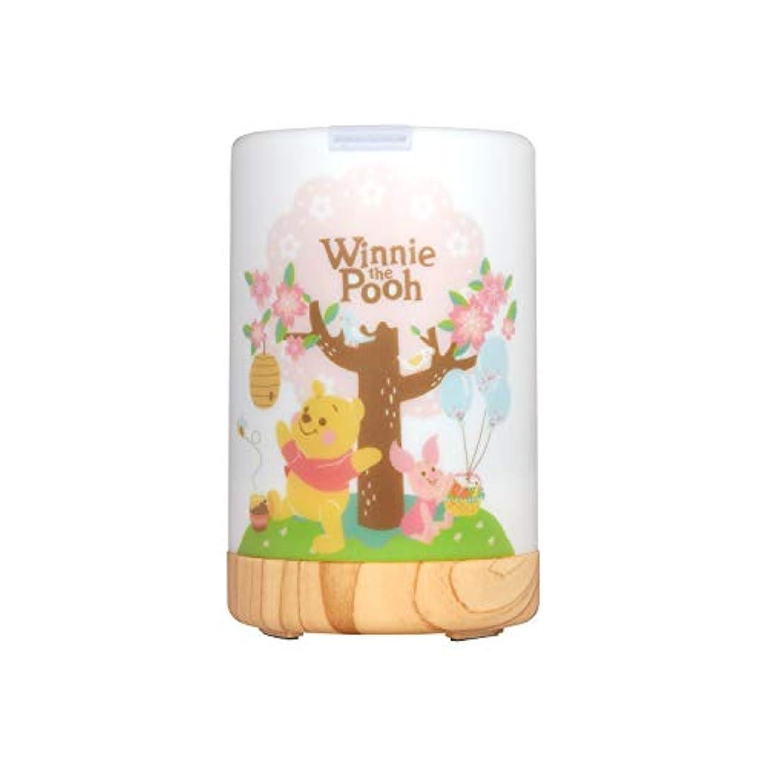 シャーロットブロンテモーター偏心InfoThink アロマディフューザー Disney Winnie the Pooh 間接照明 くまのプーさん [並行輸入品]
