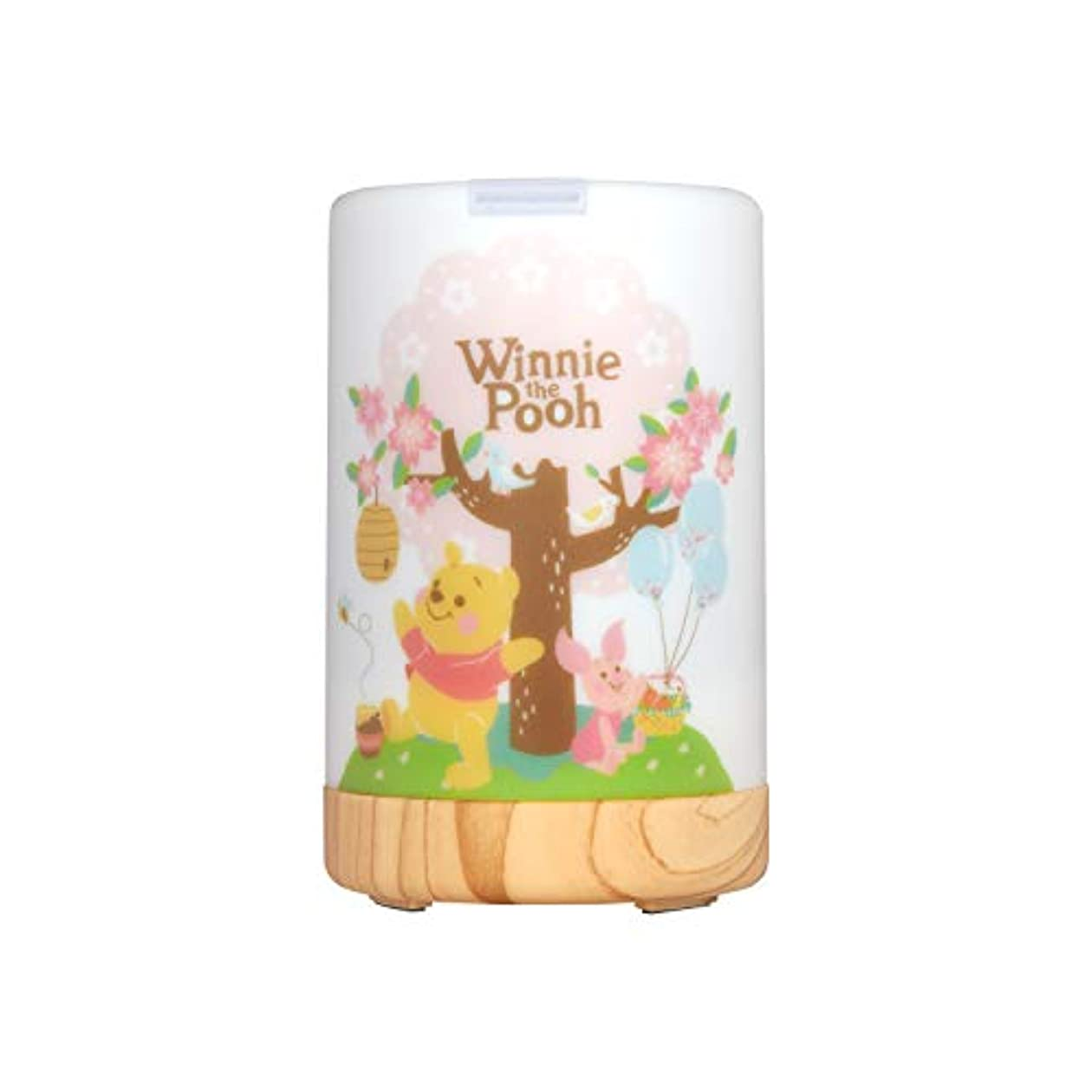 苦行質素な左InfoThink アロマディフューザー Disney Winnie the Pooh 間接照明 くまのプーさん [並行輸入品]