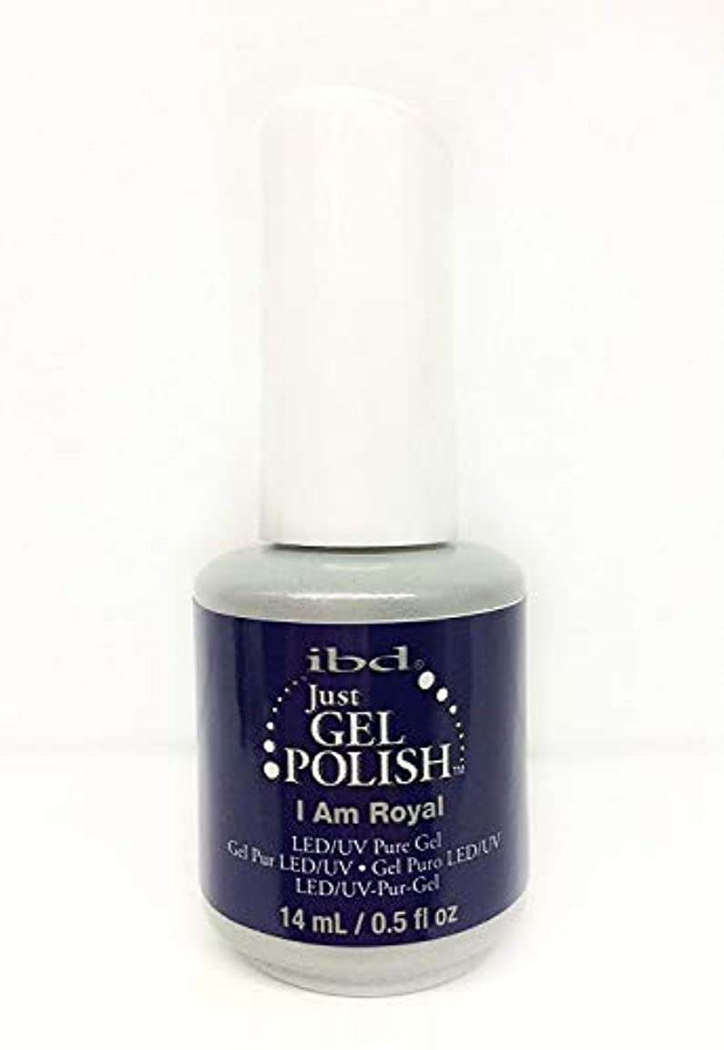 にもかかわらず持つ乱暴なibd Just Gel Nail Polish - I Am Royal - 14ml / 0.5oz