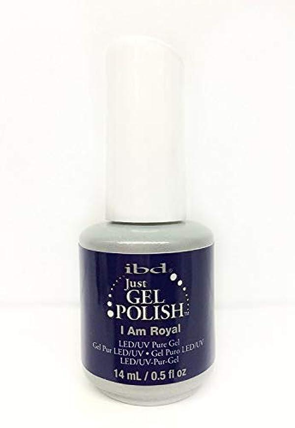 障害ウィザードシアーibd Just Gel Nail Polish - I Am Royal - 14ml / 0.5oz