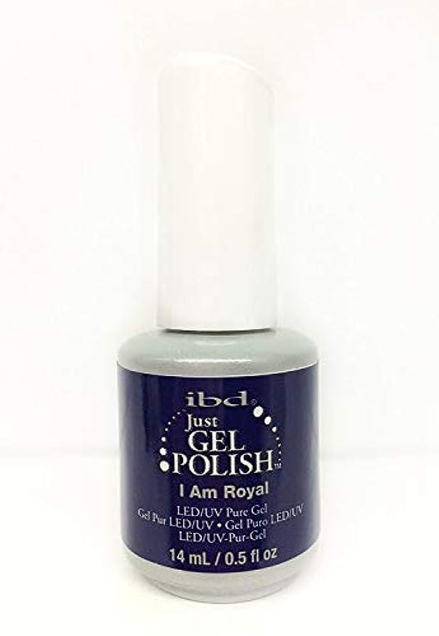 不十分な警告牛肉ibd Just Gel Nail Polish - I Am Royal - 14ml / 0.5oz