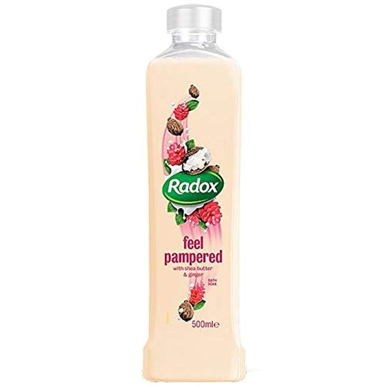 測定可能トマト不安[Radox] Radoxは、500ミリリットルのソーク甘やかさ風呂を感じます - Radox Feel Pampered Bath Soak 500Ml [並行輸入品]