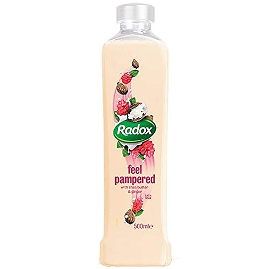 直面する淡い灌漑[Radox] Radoxは、500ミリリットルのソーク甘やかさ風呂を感じます - Radox Feel Pampered Bath Soak 500Ml [並行輸入品]