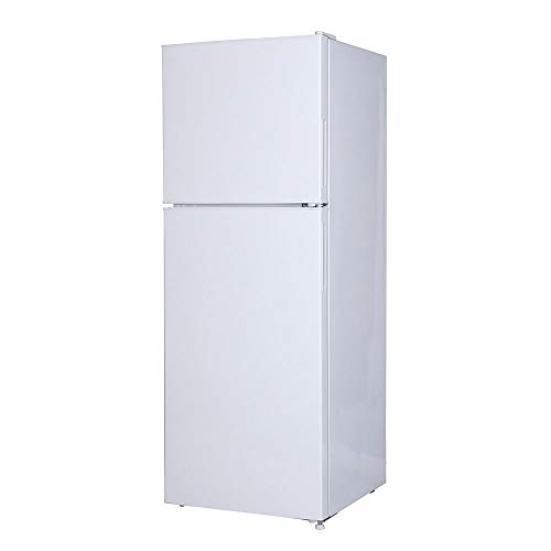 maxzen 冷蔵庫 138L 一人暮らし 2ドア マクスゼン 左右付け替えドア コンパクト 小型 パールホワイト JR138ML01WH