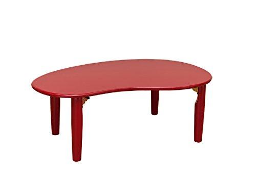 アウトレット折りたたみNEWビーンズテーブル・カラー レッド(WFG-9002 RD)