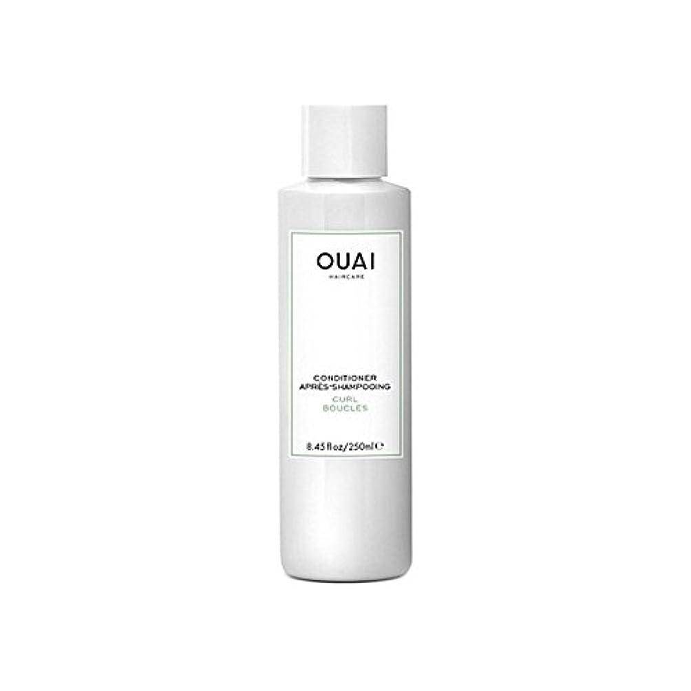 日食関数メンタリティカールコンディショナー250 x4 - Ouai Curl Conditioner 250ml (Pack of 4) [並行輸入品]