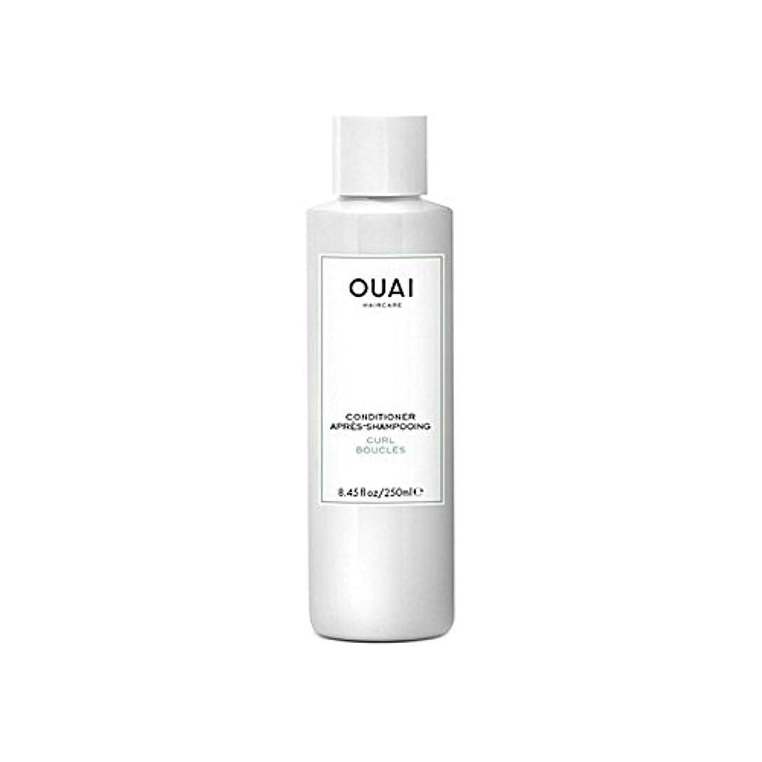 裁定イブ文明化するOuai Curl Conditioner 250ml - カールコンディショナー250 [並行輸入品]