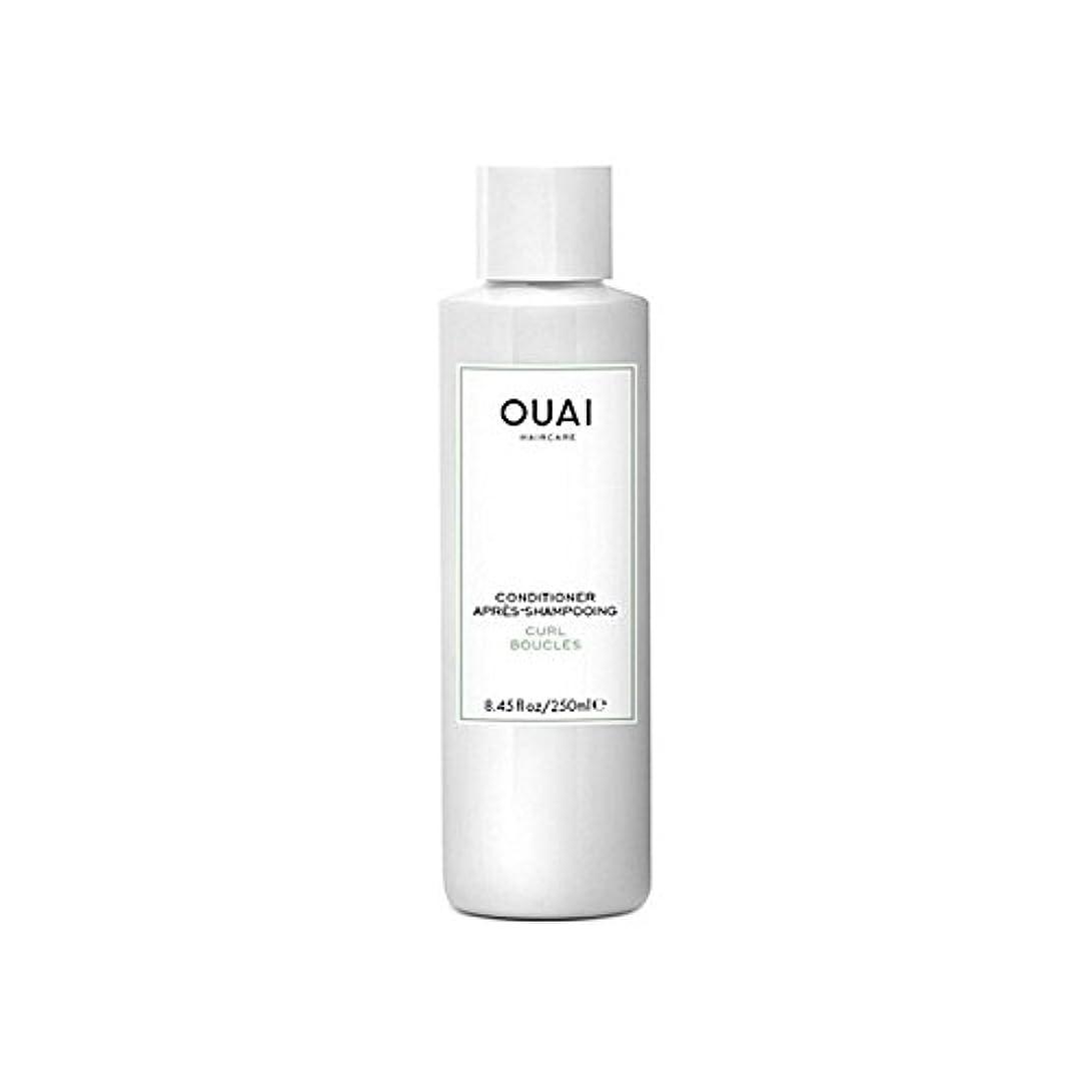 カカドゥ抽象化補充Ouai Curl Conditioner 250ml (Pack of 6) - カールコンディショナー250 x6 [並行輸入品]