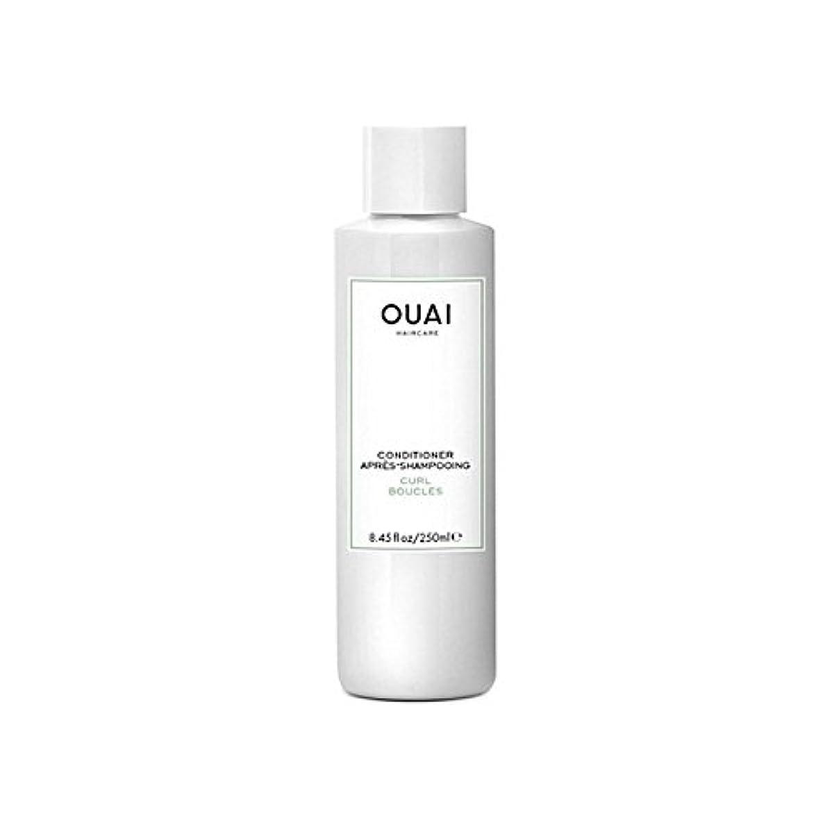 マニュアルターゲット葬儀Ouai Curl Conditioner 250ml (Pack of 6) - カールコンディショナー250 x6 [並行輸入品]