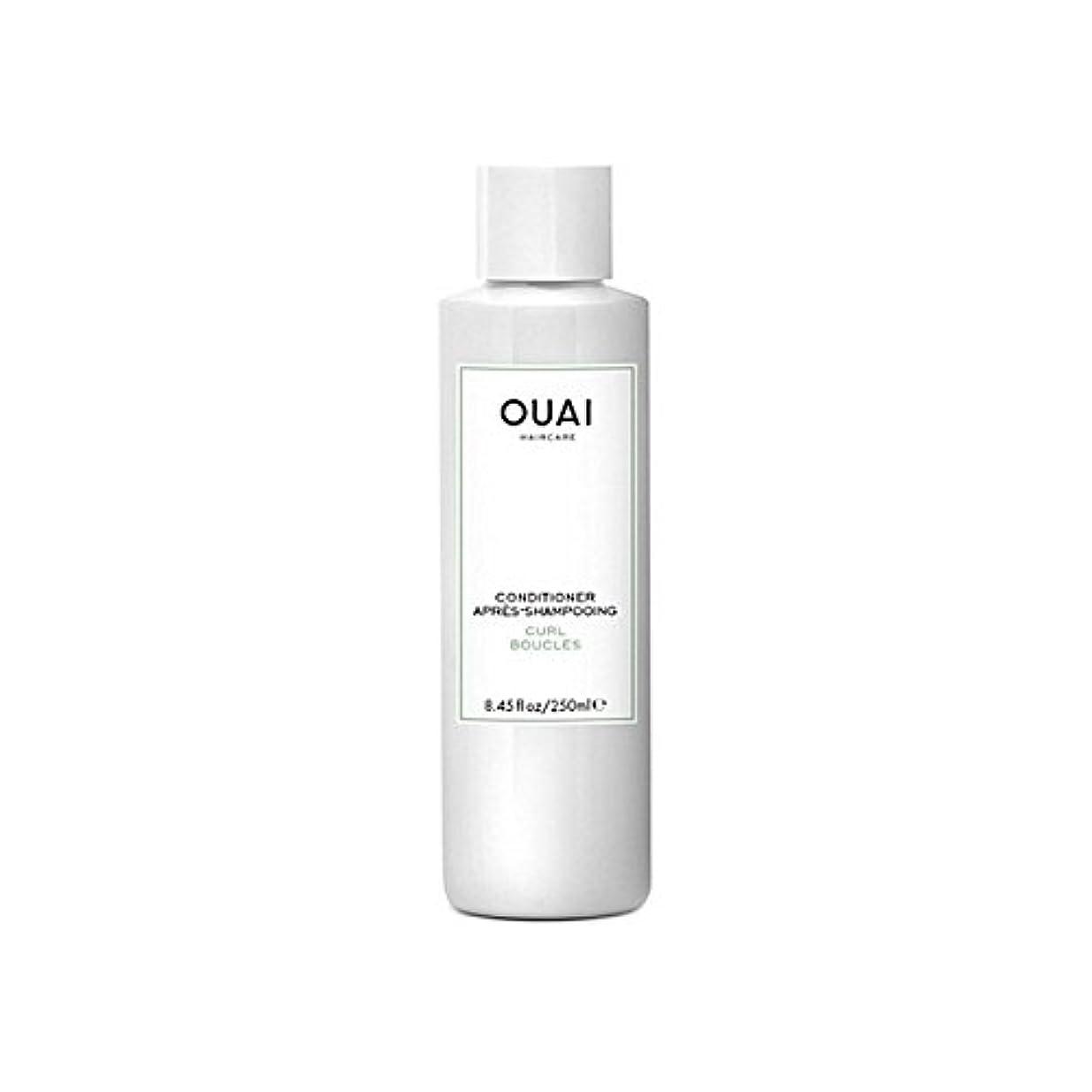 幹レンド解体するOuai Curl Conditioner 250ml - カールコンディショナー250 [並行輸入品]