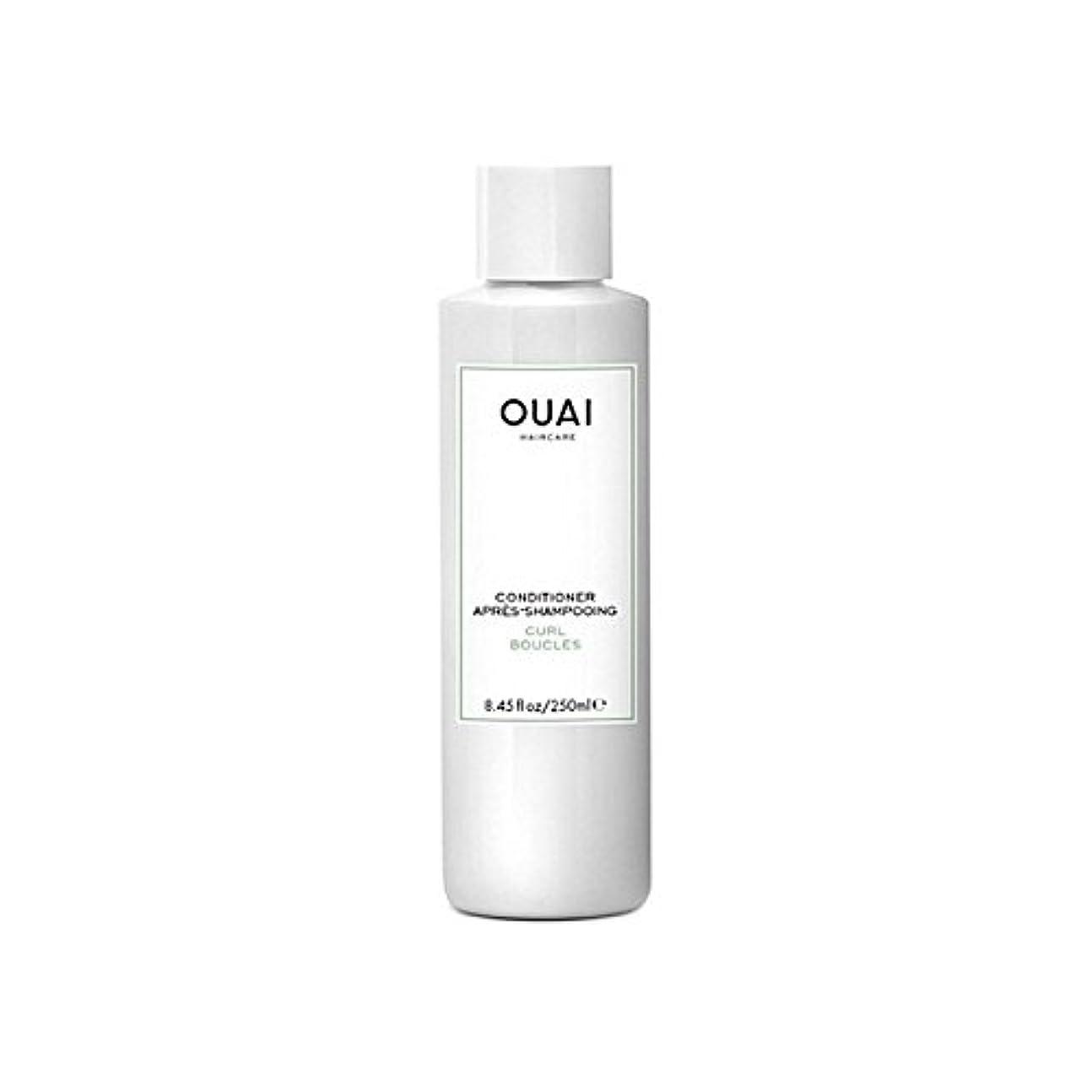 ローブライン寓話カールコンディショナー250 x2 - Ouai Curl Conditioner 250ml (Pack of 2) [並行輸入品]