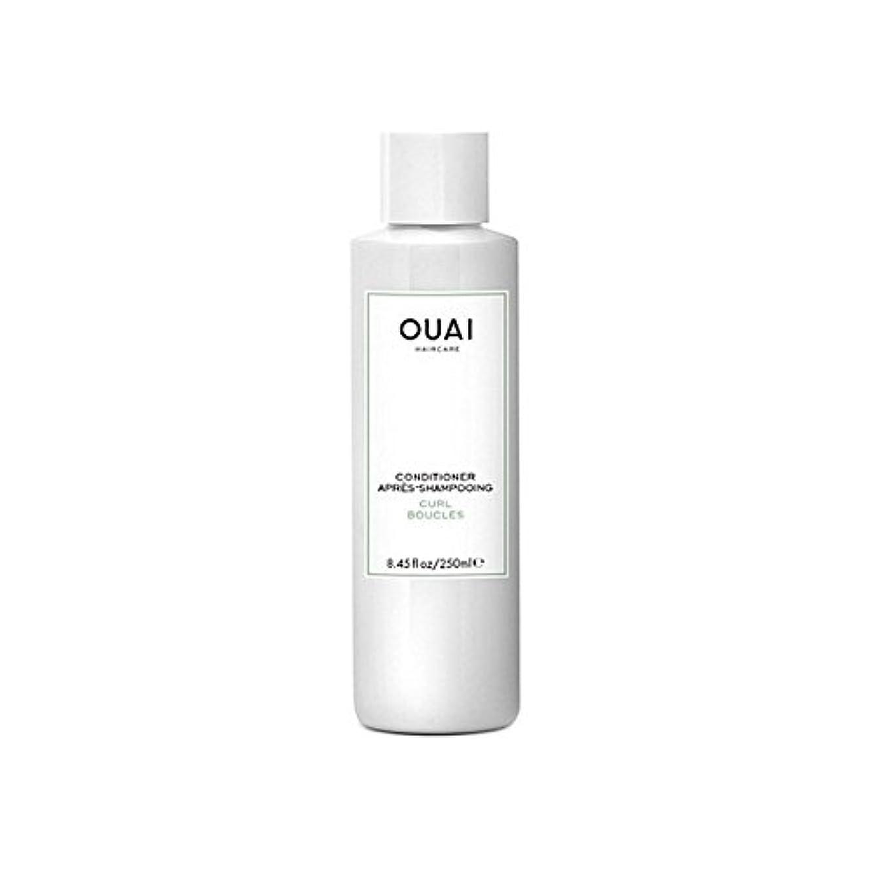 Ouai Curl Conditioner 250ml - カールコンディショナー250 [並行輸入品]