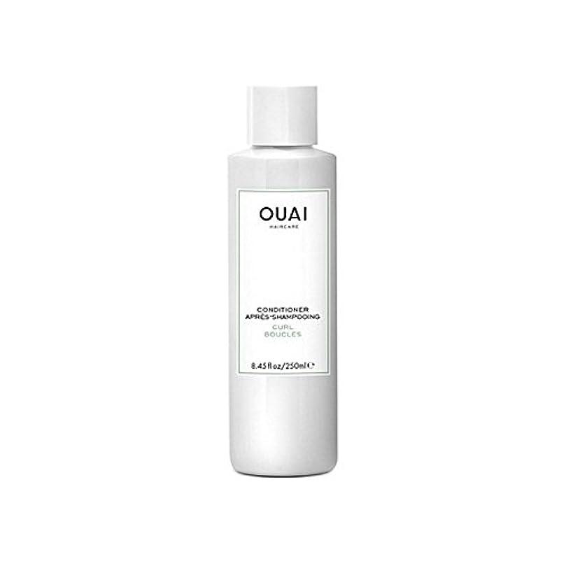 サーキュレーション専ら特許Ouai Curl Conditioner 250ml - カールコンディショナー250 [並行輸入品]
