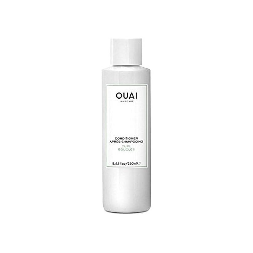 高原途方もない節約Ouai Curl Conditioner 250ml - カールコンディショナー250 [並行輸入品]
