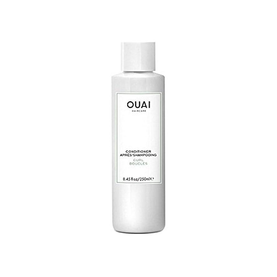 香水橋輝くOuai Curl Conditioner 250ml (Pack of 6) - カールコンディショナー250 x6 [並行輸入品]
