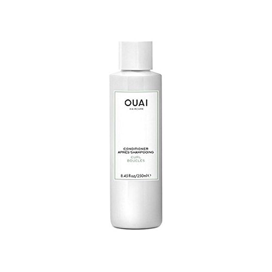 ナサニエル区仕事路地Ouai Curl Conditioner 250ml (Pack of 6) - カールコンディショナー250 x6 [並行輸入品]