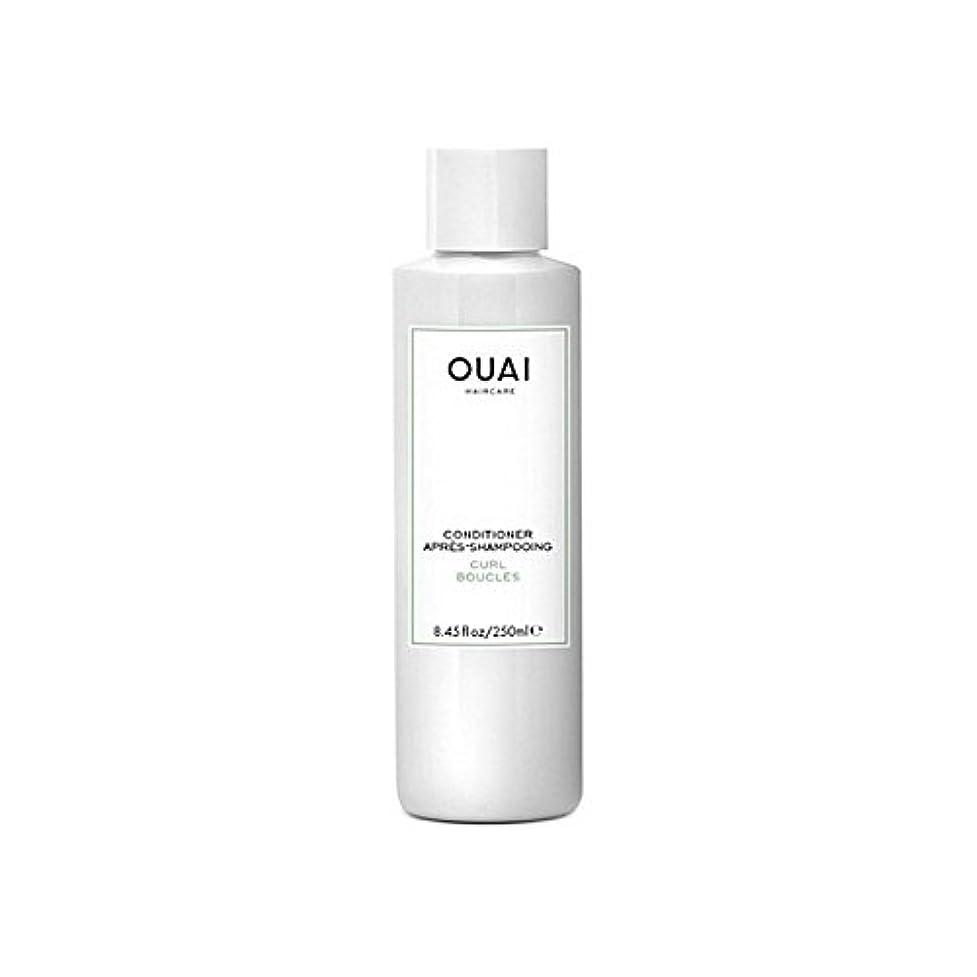 最大野菜捨てるOuai Curl Conditioner 250ml (Pack of 6) - カールコンディショナー250 x6 [並行輸入品]