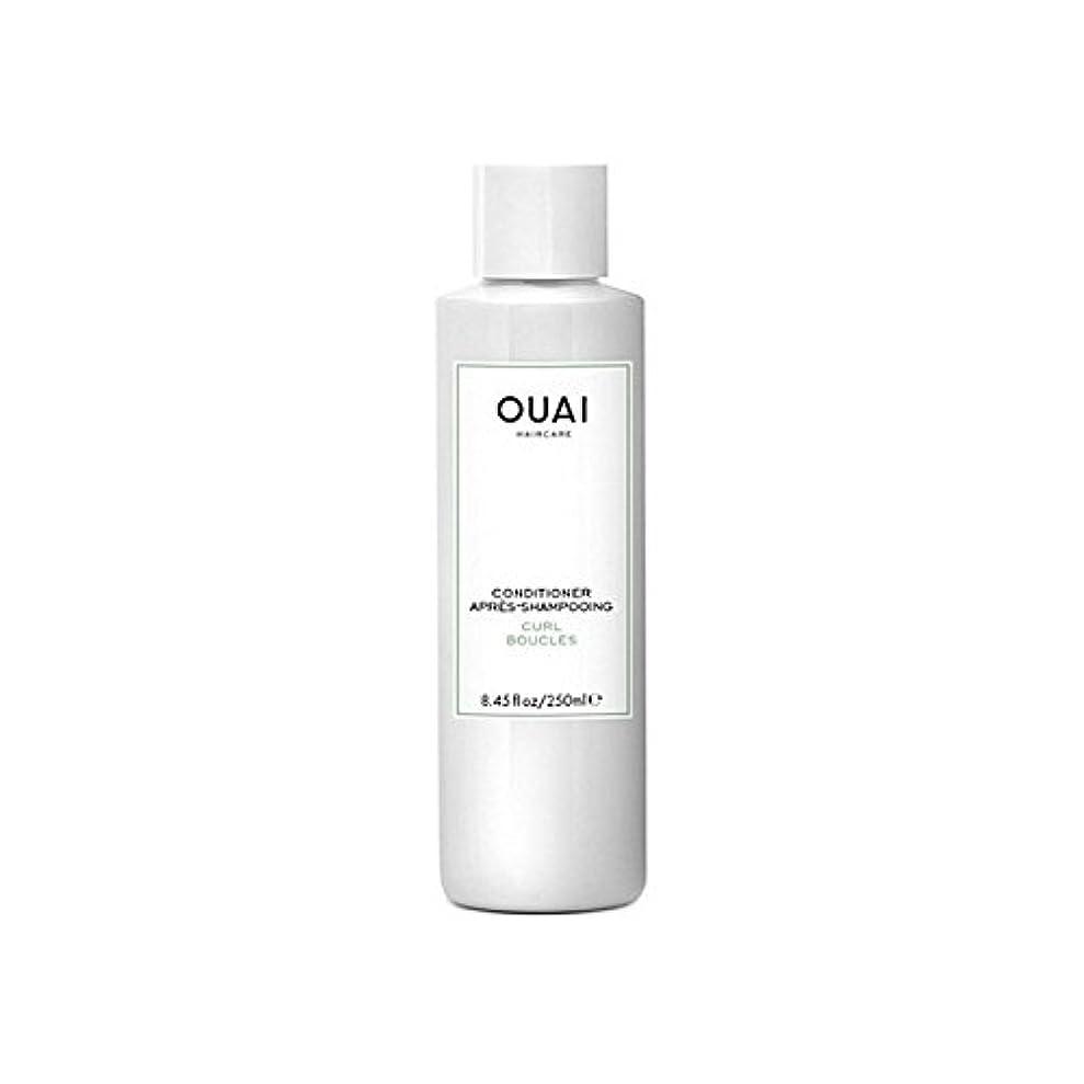 私砂騙すカールコンディショナー250 x4 - Ouai Curl Conditioner 250ml (Pack of 4) [並行輸入品]