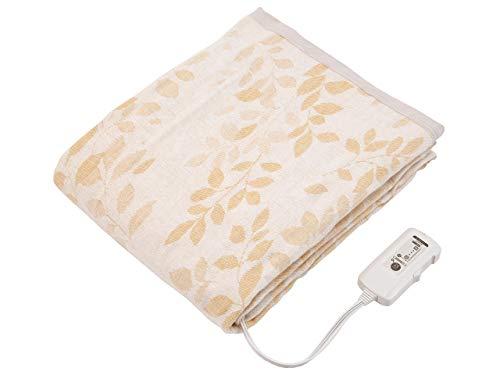 コイズミ 電気掛敷毛布 タイマー付綿毛布 188×140cm KDK-7589CT