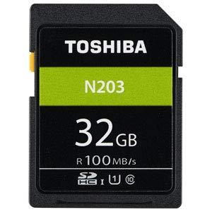 東芝  SDHCメモリーカード 32GB Class10 UHS-I SD-LU032G B07G4RG4PF 1枚目