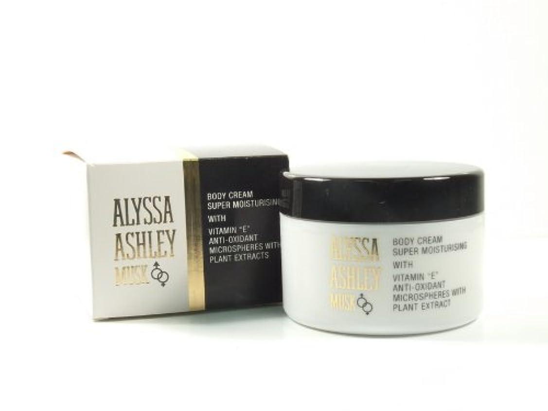 ブレンド輝く教Alyssa Ashley Musk Body Cream 250ml by Alyssa Ashley