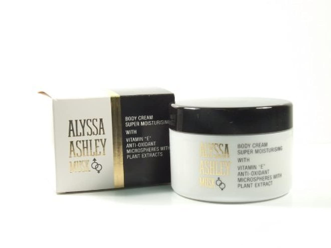 スイッチ電信気怠いAlyssa Ashley Musk Body Cream 250ml by Alyssa Ashley