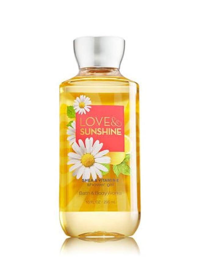 土地流溝【Bath&Body Works/バス&ボディワークス】 シャワージェル ラブ&サンシャイン Shower Gel Love & Sunshine 10 fl oz / 295 mL [並行輸入品]
