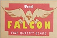 Treet Falcon 両刃替刃 10枚入り(10枚入り1 個セット)【並行輸入品】