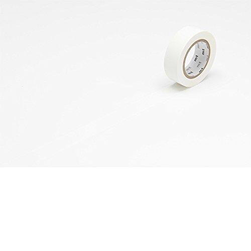 カモ井加工紙 マスキングテープ マットホワイト MT01P208