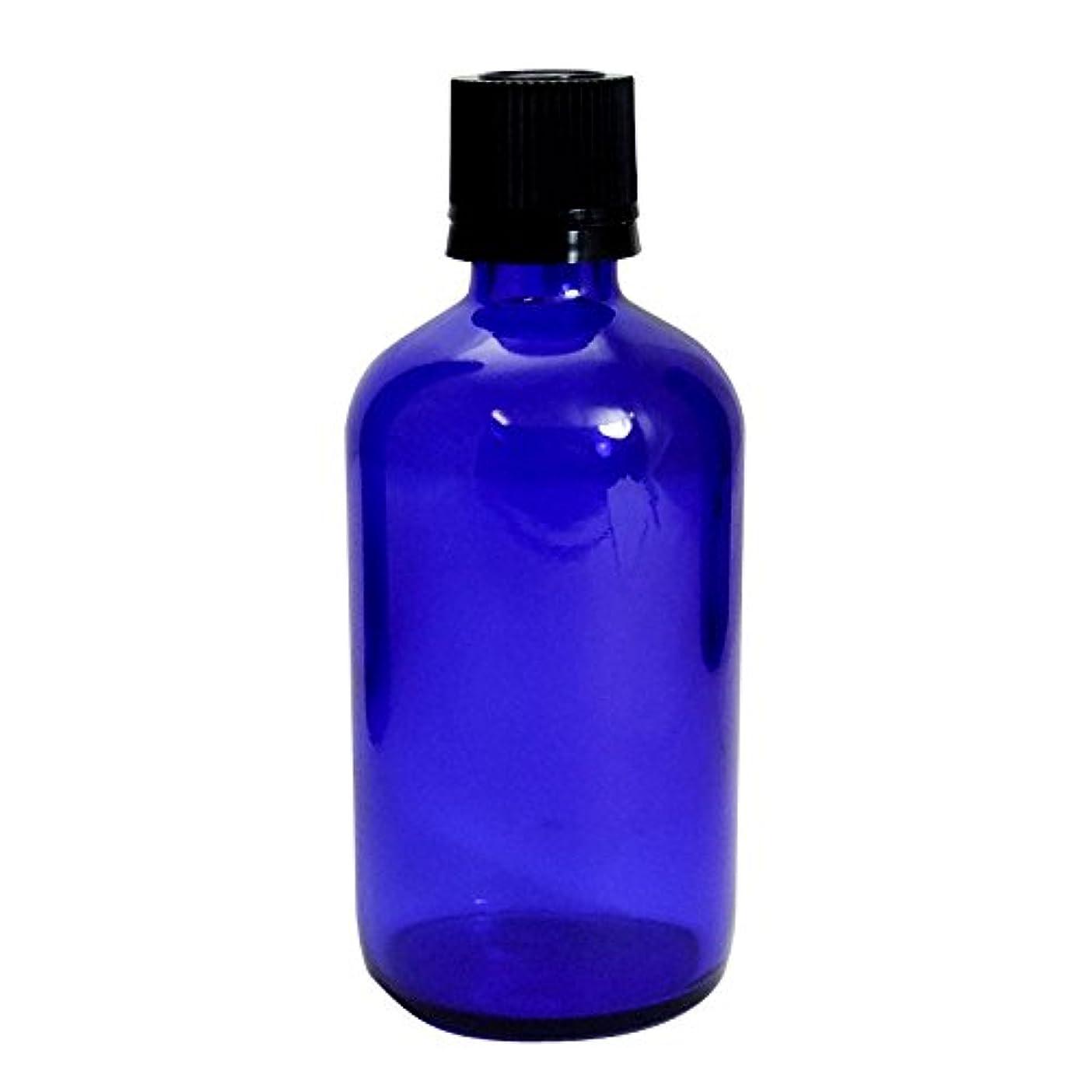 コンテンツ前進気絶させる遮光瓶100mlブルーTBG-100 ブルー
