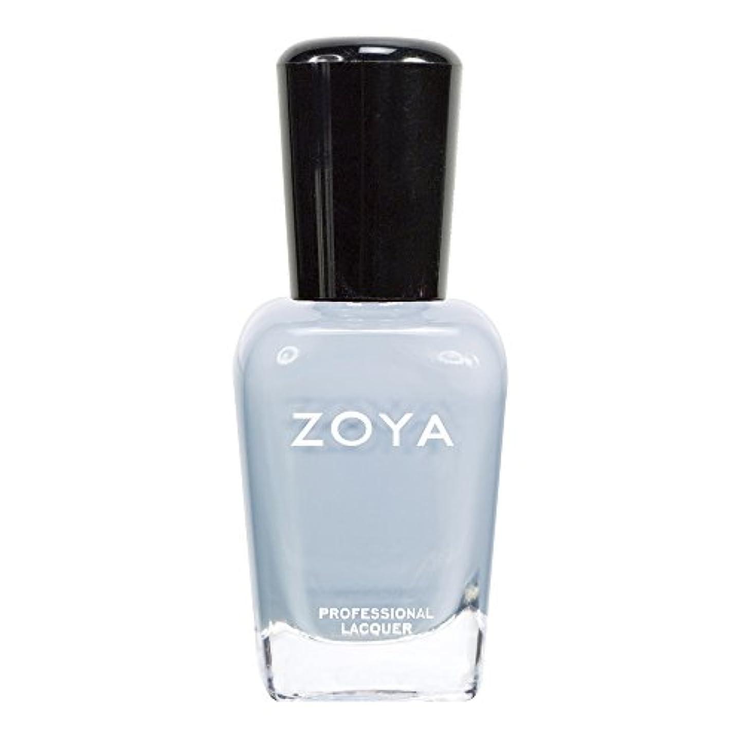 ハードリング祈り耳ZOYA ゾーヤ ネイルカラーZP591 KRISTEN クリスティン 15ml  青みがかったグレー マット/クリーム 爪にやさしいネイルラッカーマニキュア