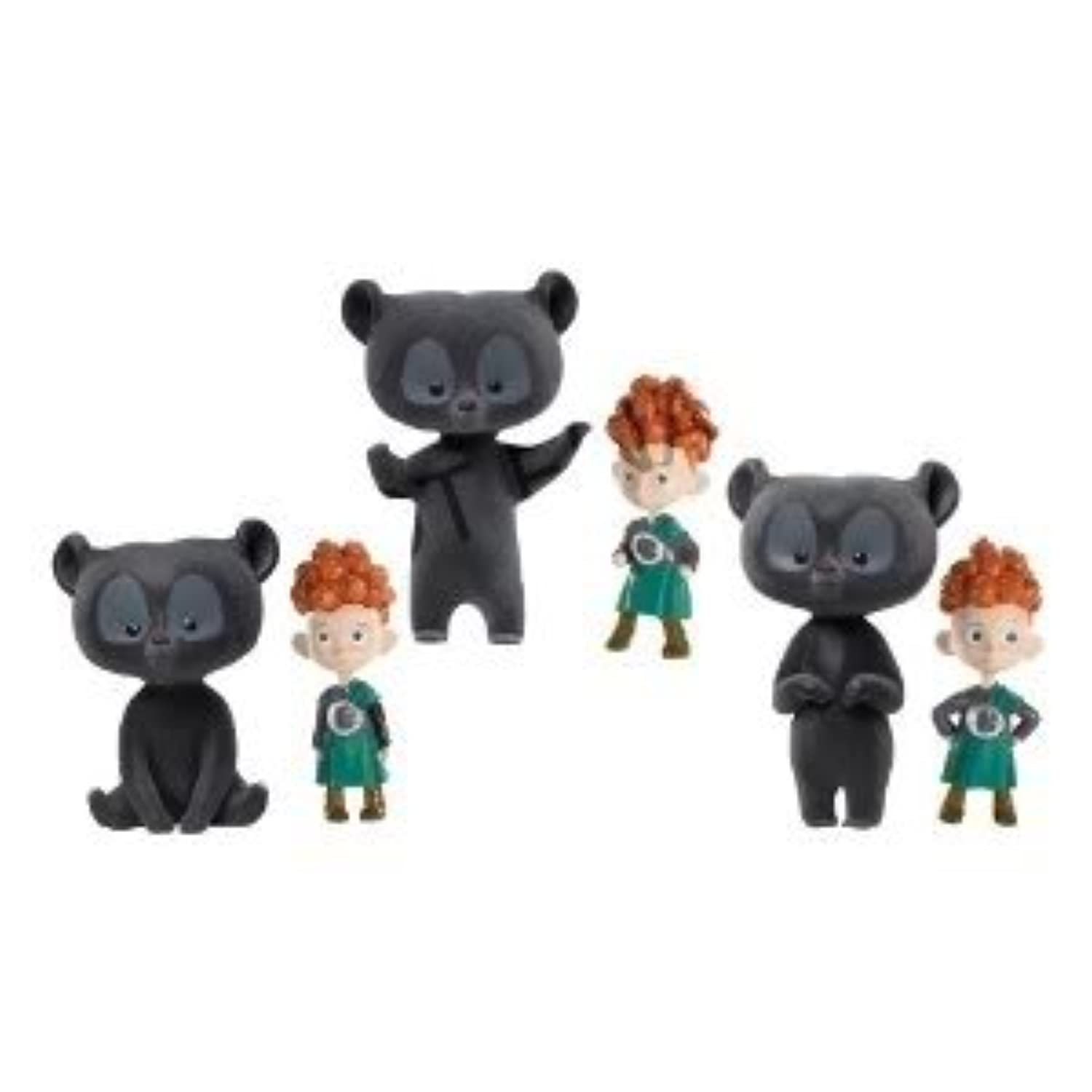 Toy / Game Adorableディズニー/ Pixar Brave Transforming Triplets Dolls – ハイライトThe Boys Playful Personalities